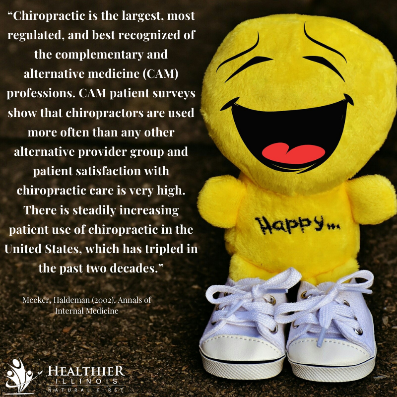 Healthier Illinois Chiropractic Increasing United States