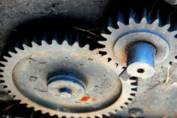 Gears work together