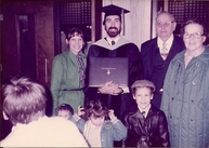 Dr. Alan Johnson, DC, graduates from Palmer College of Chiropractic on 3/18/83.