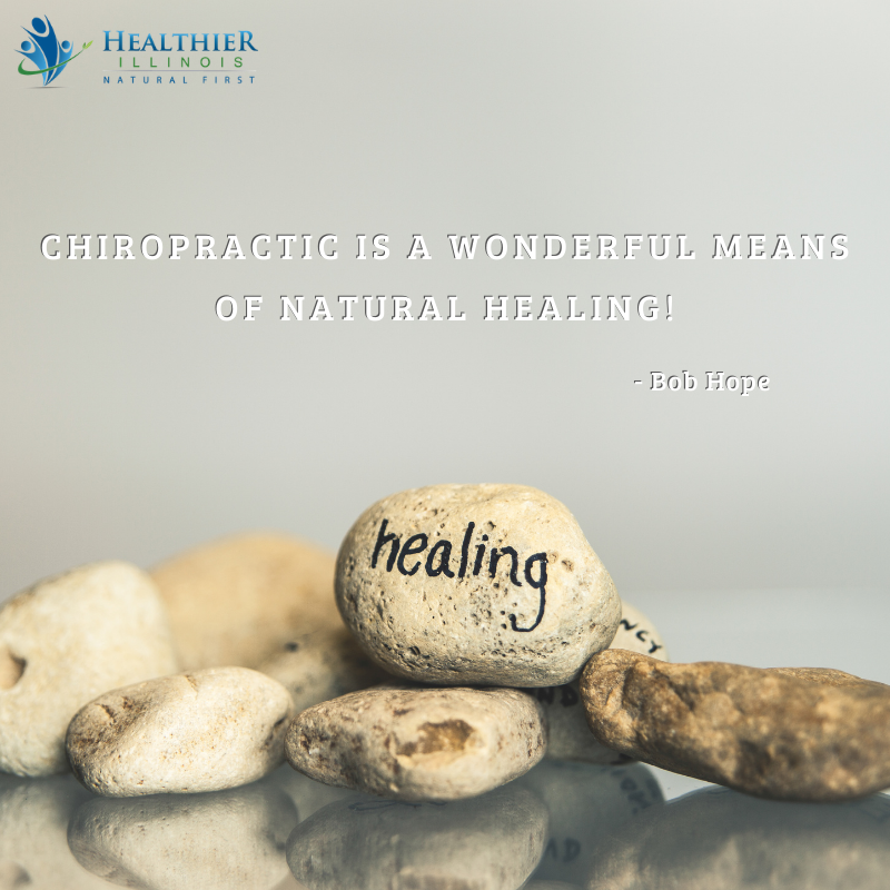 Healthier Illinois Bob Hope Chiropractic Natural Healing
