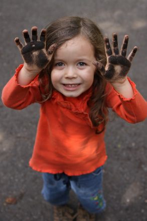 Girls should play in the dirt